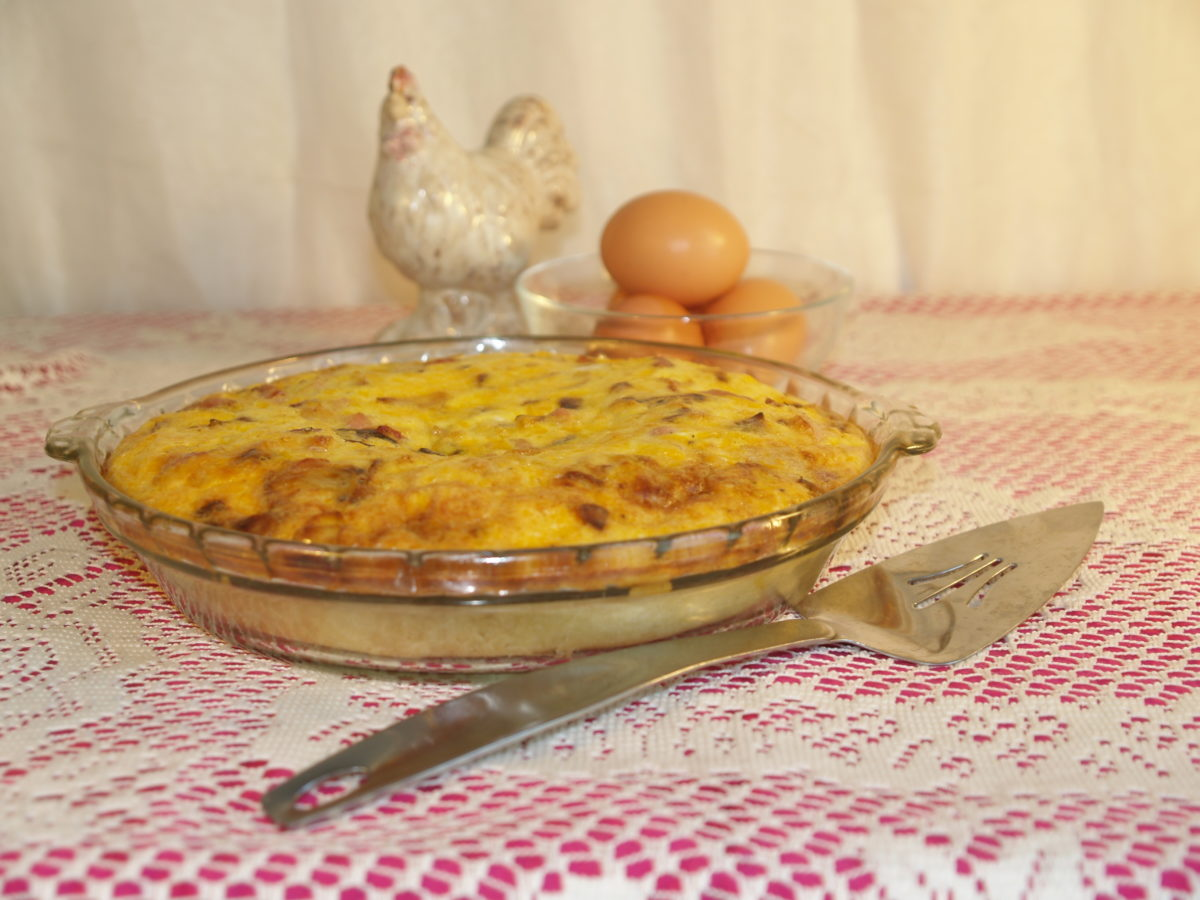 Farmhouse Quiche: A Delicious Way to Use Up Extra Eggs