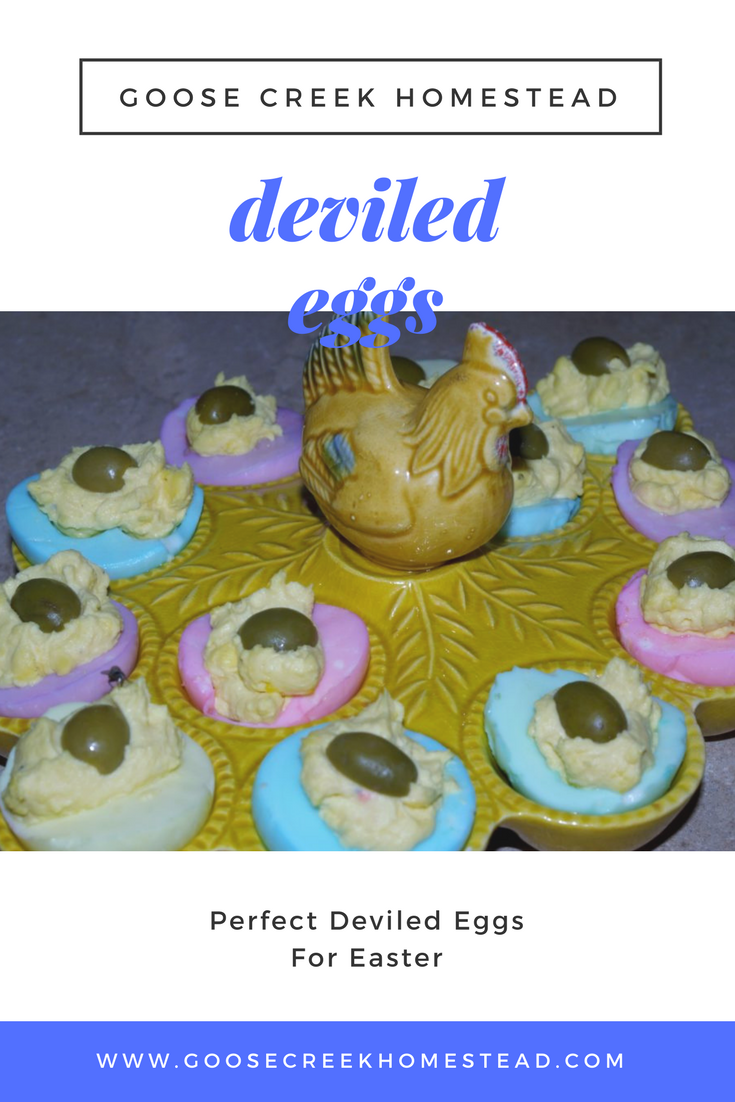 Perfect Deviled Eggs For Easter- Goose Creek Homestead